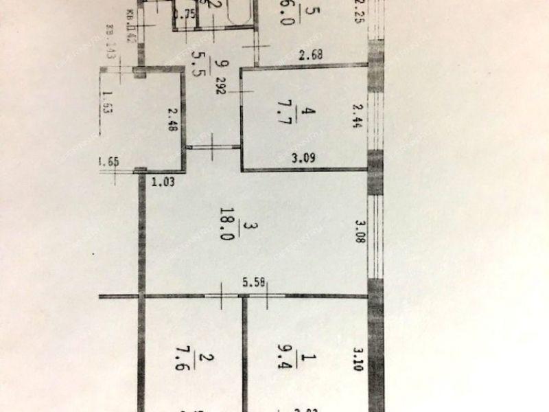 четырёхкомнатная квартира на улице Адмирала Макарова дом 6 к2