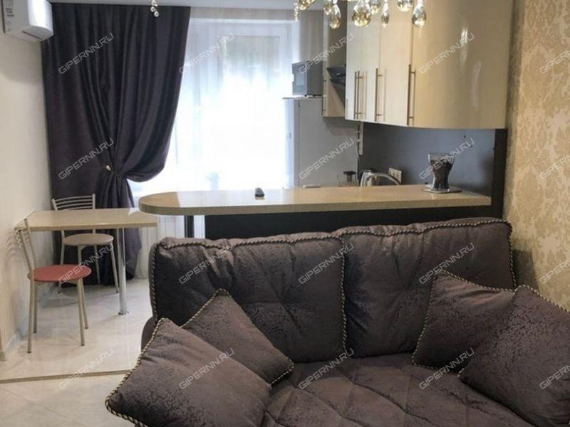 двухкомнатная квартира на улице Раевского дом 19