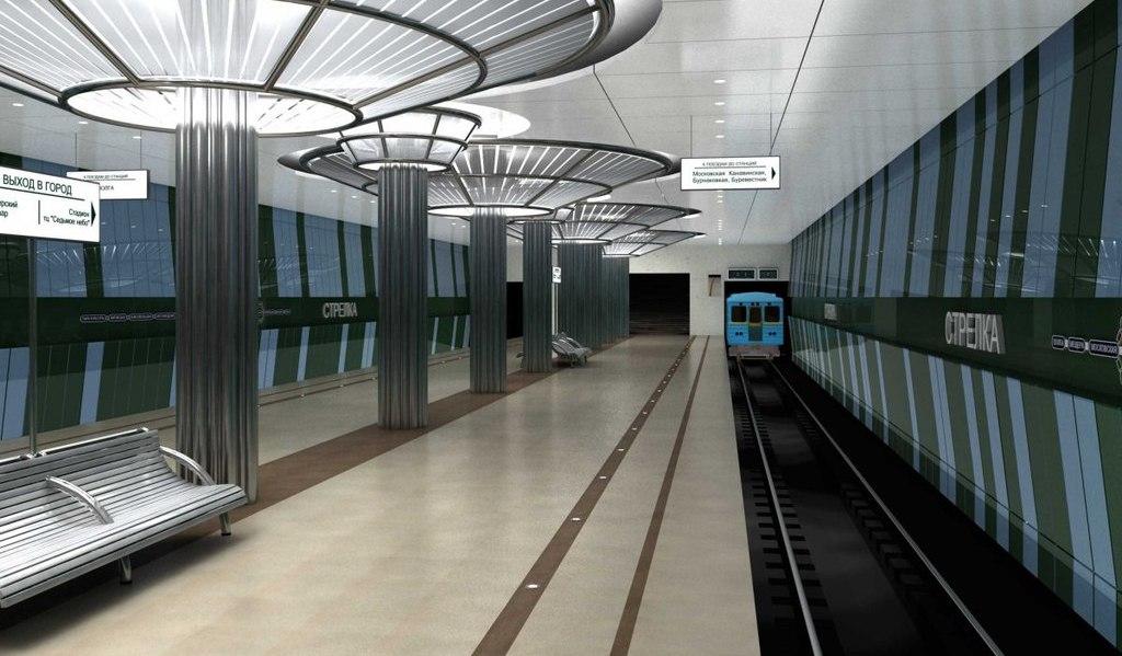 Работы на станции метро «Стрелка» должны завершиться к 30 апреля - фото