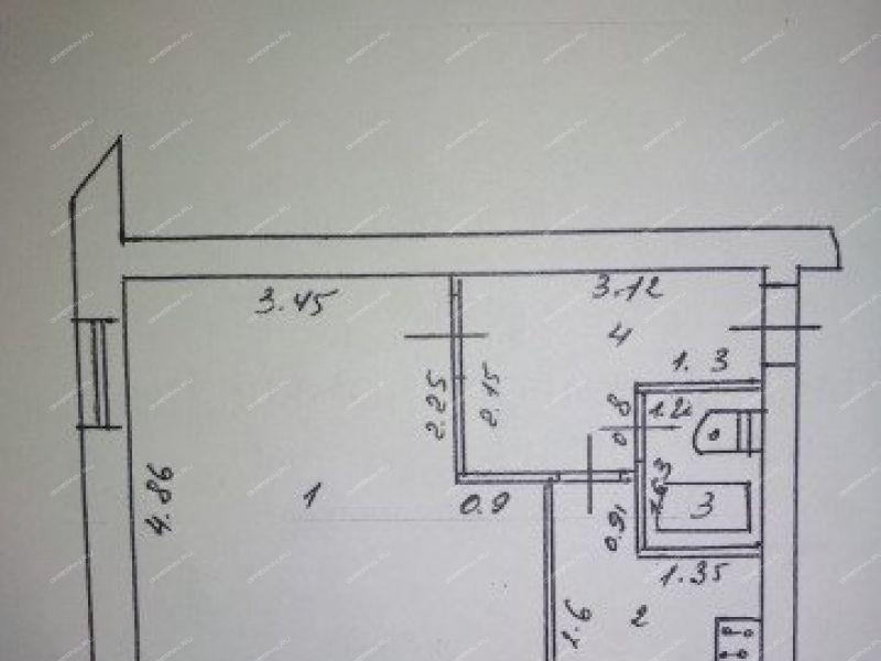 однокомнатная квартира на улице Бумажников город Балахна