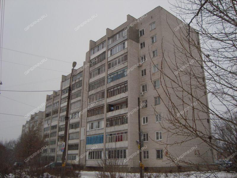 двухкомнатная квартира на Октябрьской улице дом 63 город Дзержинск