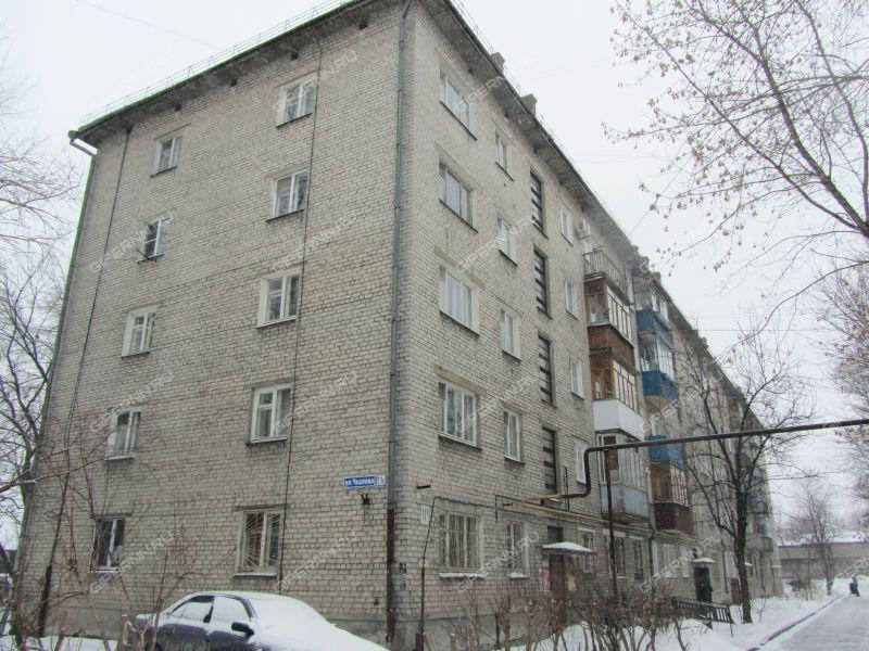 двухкомнатная квартира на улице Чкалова дом 11б