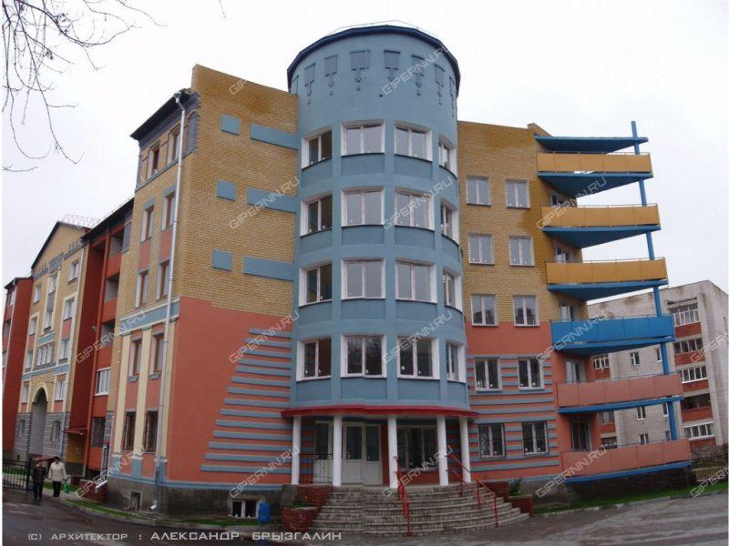 однокомнатная квартира на улице Фрунзе дом 26 город Бор