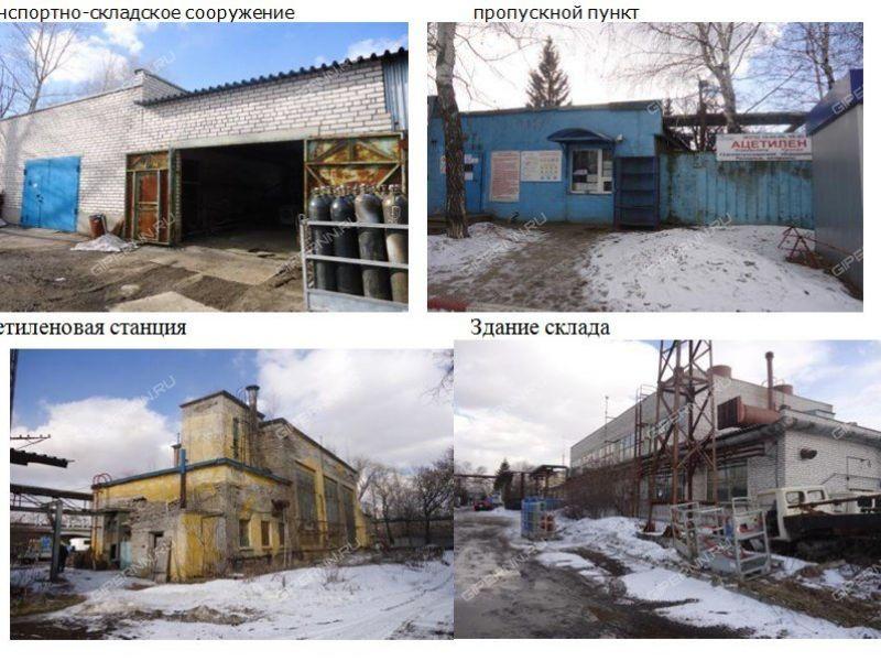 имущественный комплекс под склад, производственную площадь на улице Окская Гавань