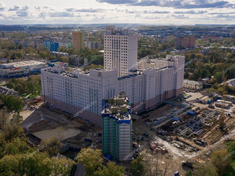 двухкомнатная квартира в новостройке на Московское шоссе, 167, дом 60/3