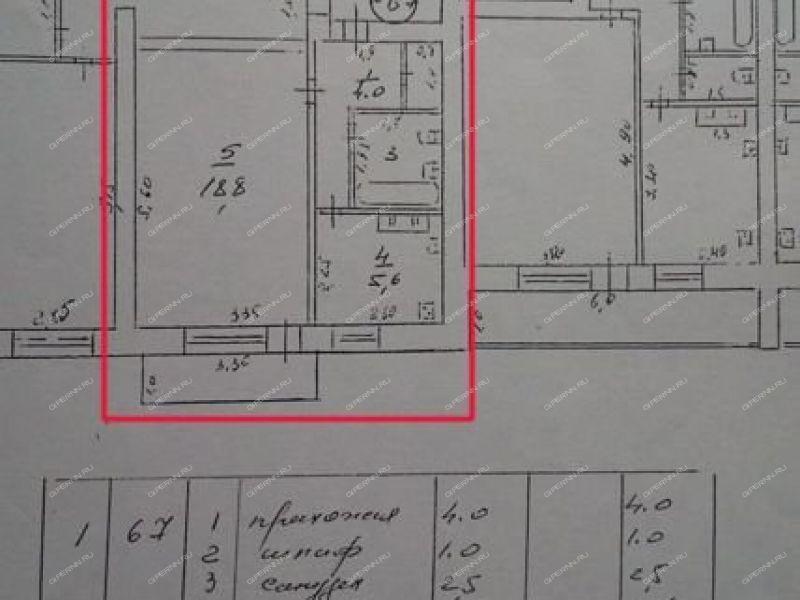 однокомнатная квартира на улице Калинина город Навашино
